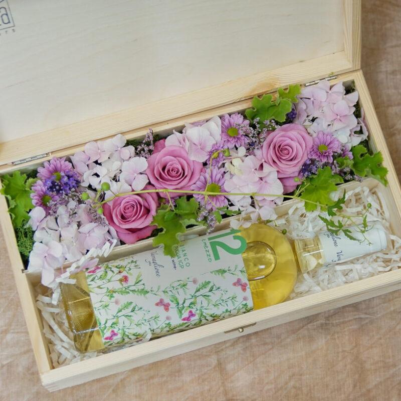 Kwiaty w pudełku, flowerbox