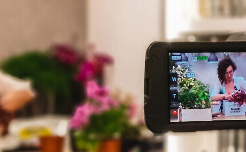 Kurs florystyczny ONLINE, czyli nowa odsłona mojej pasji